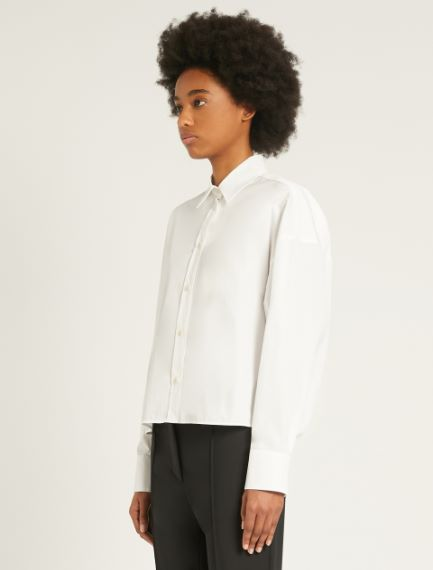 Boxy-fit cotton shirt Sportmax