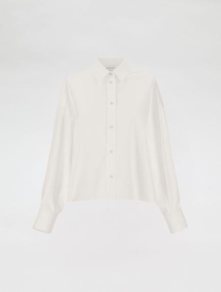 Boxy-fit cotton shirt