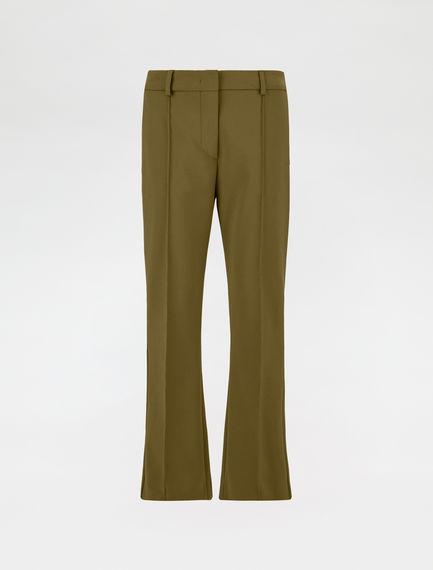 Mini flare trousers