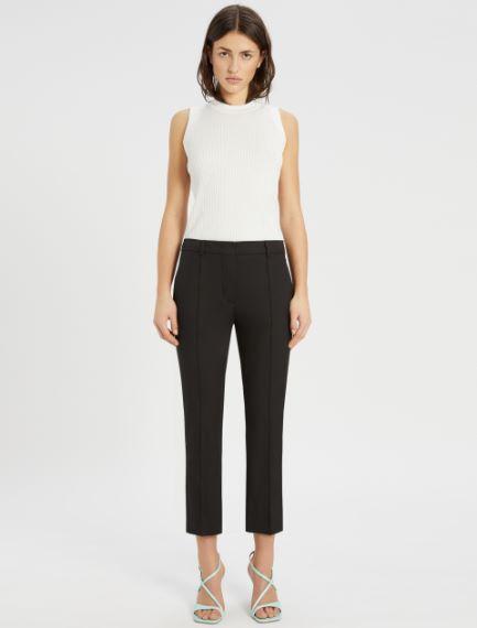 Pantaloni in gabardina di cotone Sportmax