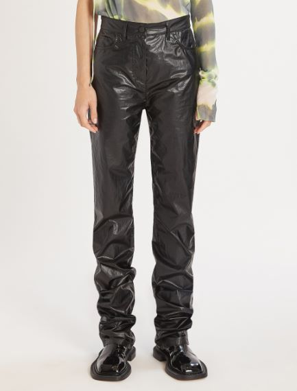 5-pocket coated fabric trousers Sportmax