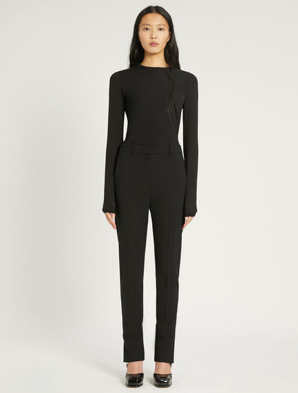 Stretch wool tailored trousers Sportmax