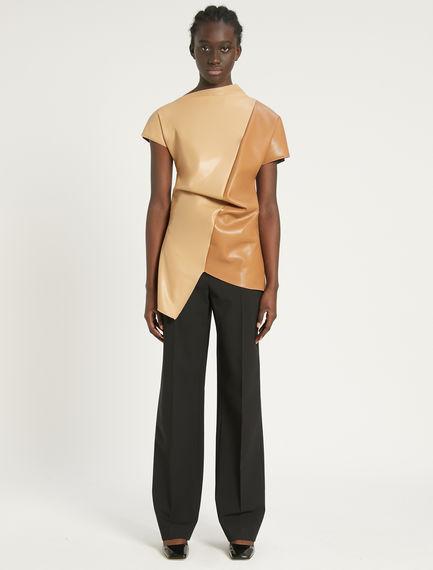 Double-belt trousers