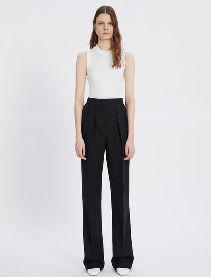 Relaxed-fit pleated trousers Sportmax