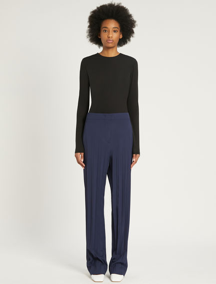 Pleated palazzo trousers Sportmax