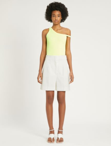 Stretch cotton gabardine Bermuda shorts Sportmax