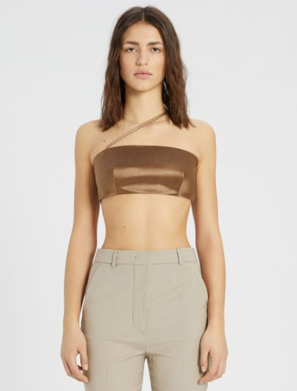 Asymmetric top with shoulder strap Sportmax