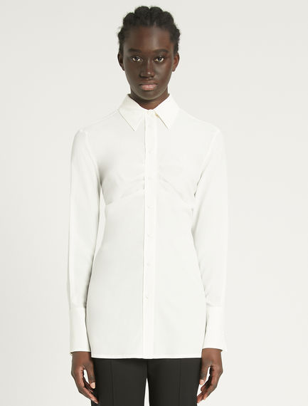 Draped crepe shirt Sportmax