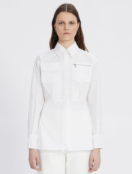 Shirt with patch pockets Sportmax