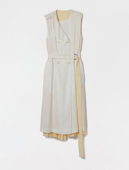 Reversible dress in light viscose cady Sportmax