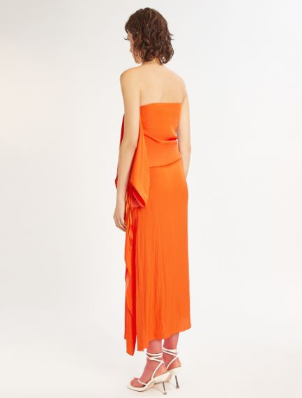 Side-ruche dress