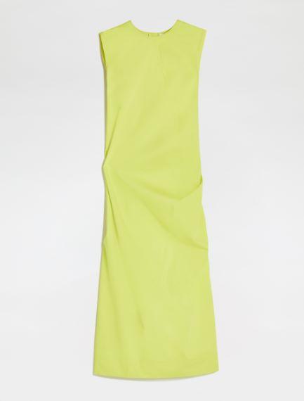 Stretch cotton gabardine dress Sportmax