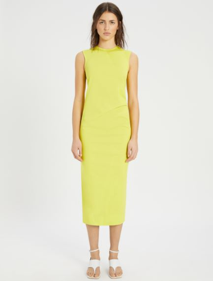 Stretch cotton gabardine dress Sportmax