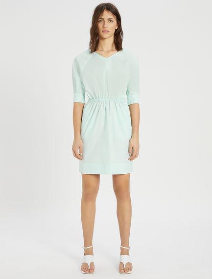 Cotton poplin dress