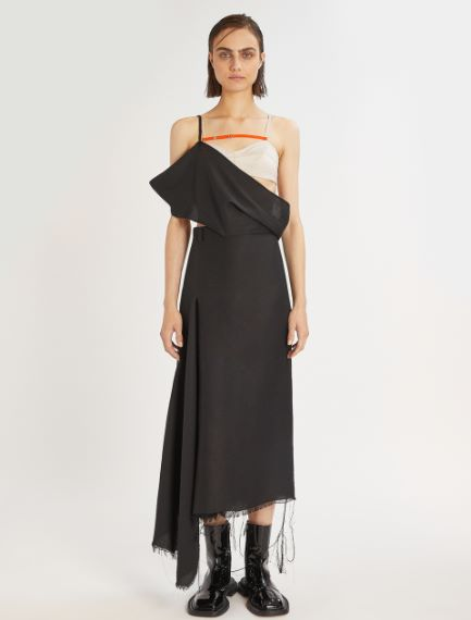 Asymmetric bra dress Sportmax