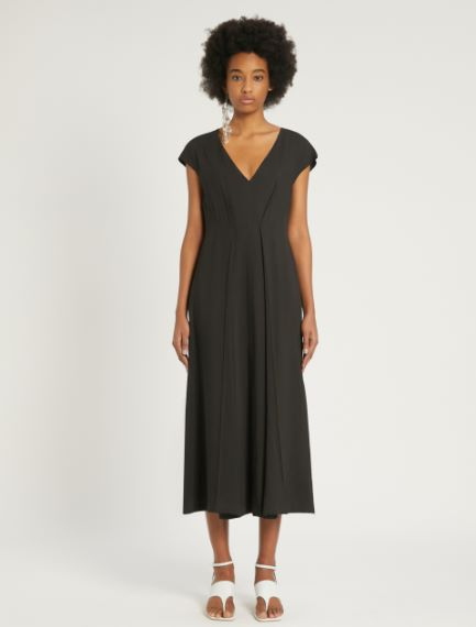 Viscose and ramie dress Sportmax