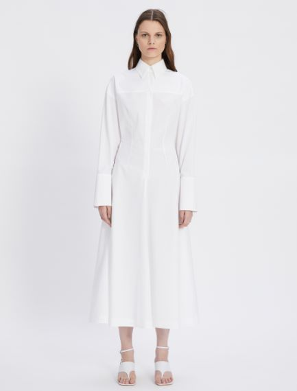 Cotton poplin dress Sportmax