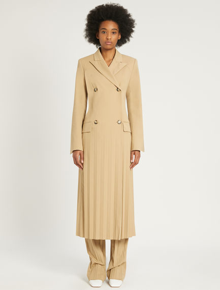 Double-breasted pleated dress Sportmax