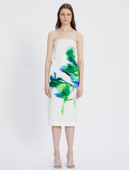 Viscose and cotton gabardine dress Sportmax