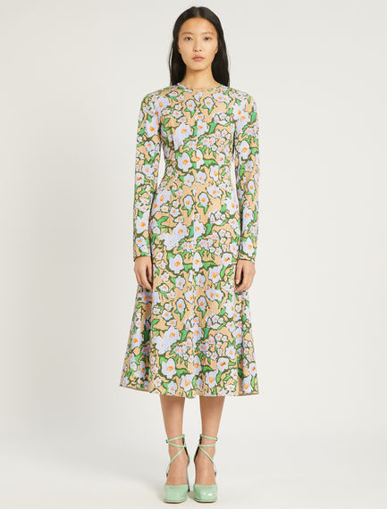 Floral jacquard dress Sportmax