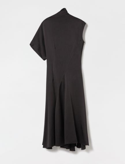 Cady envers satin dress