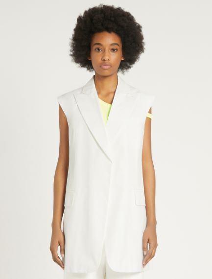 Cotton poplin waistcoat Sportmax