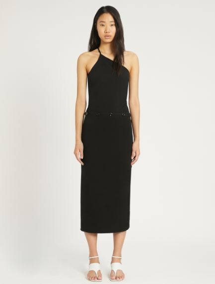 Cotton and nylon knit dress Sportmax