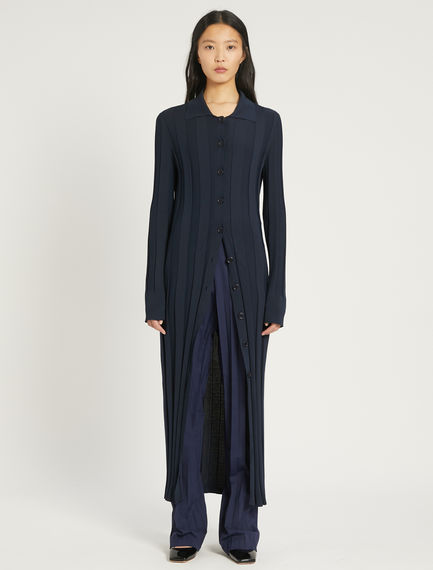 Stretch knit shirt dress Sportmax