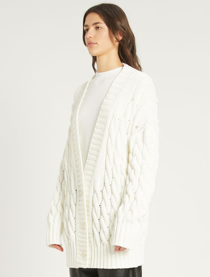 Cable-knit cardigan Sportmax