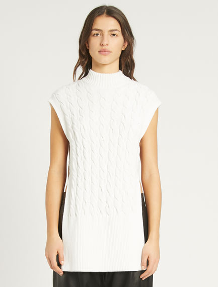 Cable-knit gilet Sportmax
