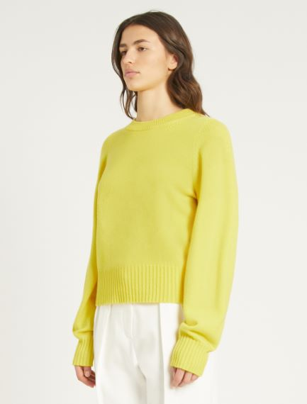 Cashmere-blend sweater