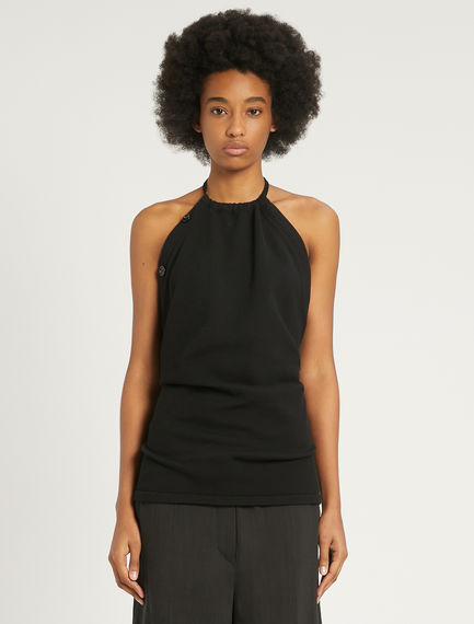 Cotton and nylon knit top Sportmax