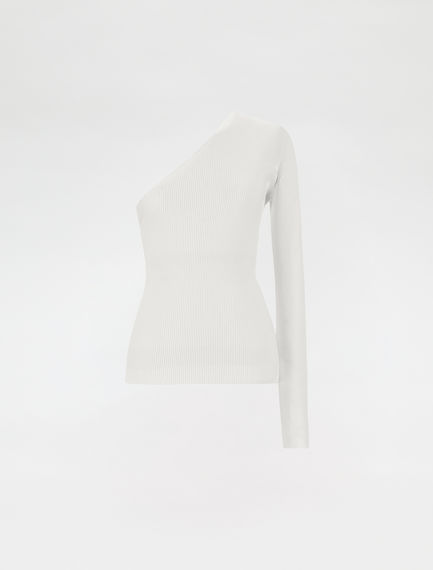 One-shoulder sweater
