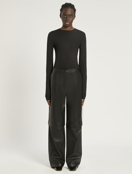 2-in-1 Nappa leather trousers Sportmax
