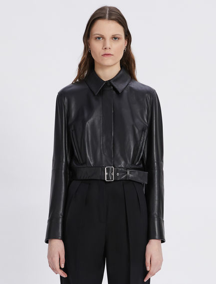 Biker jacket in nappa Sportmax