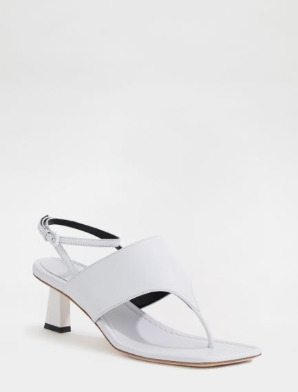Shiny nappa leather sandals Sportmax