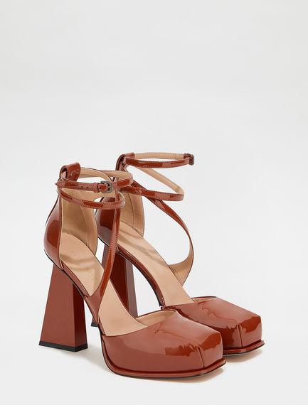 Patent leather Mary Jane shoes Sportmax