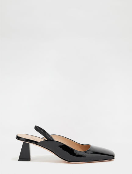 Patent leather slingbacks Sportmax