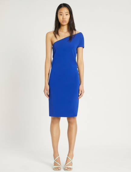 Stretch viscose interlock dress