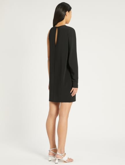 Stretch viscose interlock dress