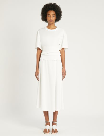 Cotton and modal interlock dress Sportmax