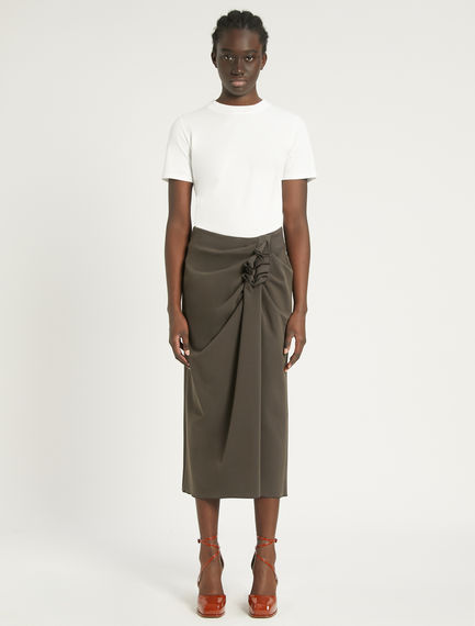 Draped midi skirt Sportmax