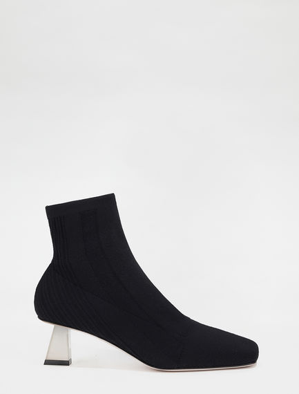 Lurex-knit ankle boots Sportmax