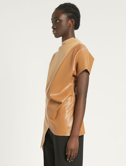 Top asimmetrico color block Sportmax