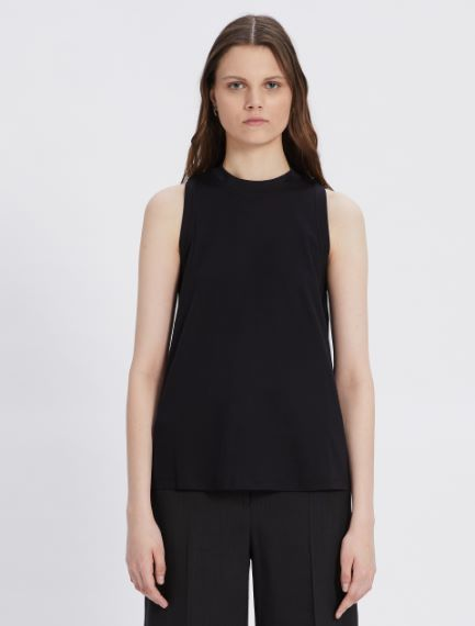 Cotton and modal interlock top Sportmax
