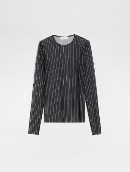 Double-print tulle sweater Sportmax