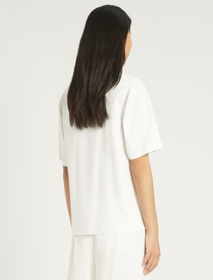 Cotton and modal jersey T-shirt