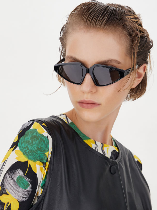 Acetate glasses Sportmax