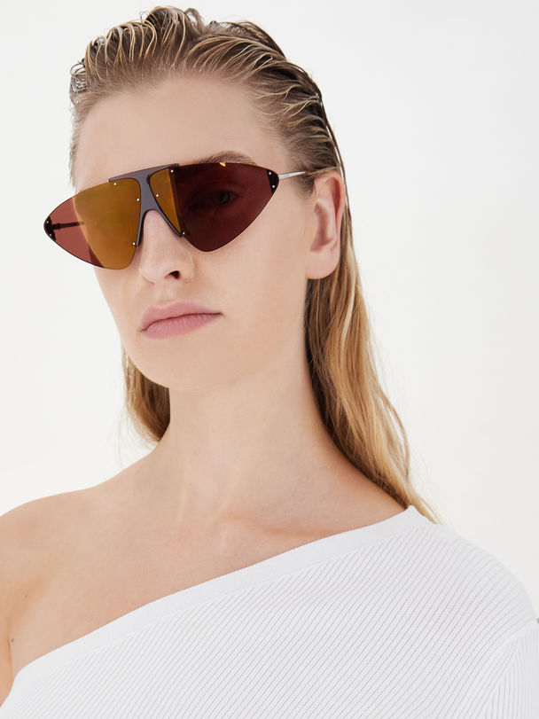 Triangle-lens glasses Sportmax