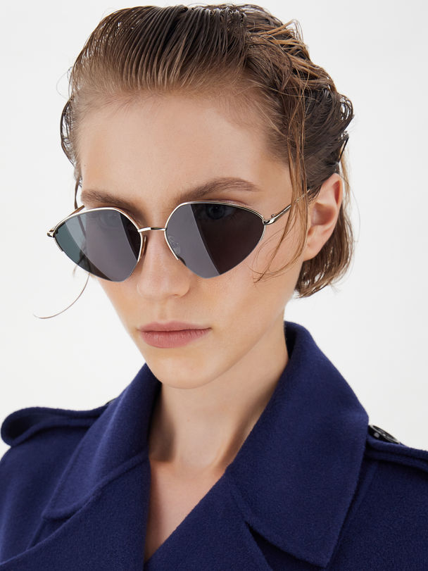 Metal-frame glasses Sportmax
